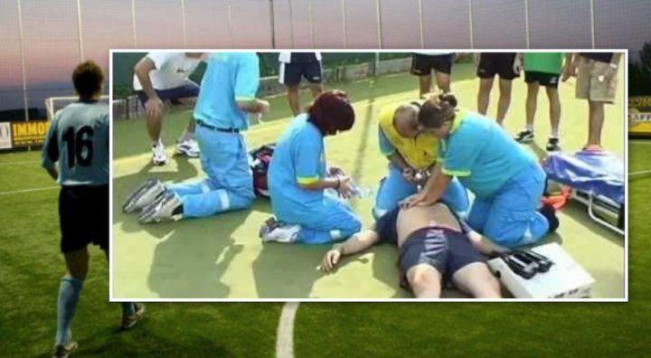 San Giorgio del Sannio, 35enne si accascia al suolo durante partita di calcio