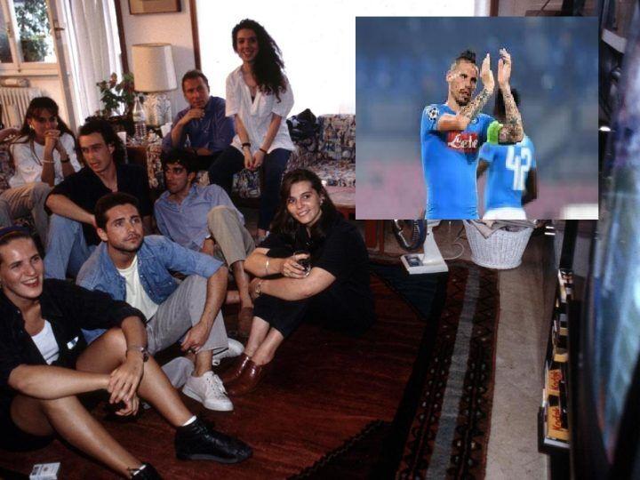 Tifosi guardano la Champions a casa di Hamsik. C'entra la Heineken
