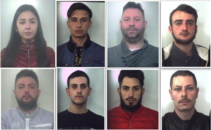 Furti in Campania, 19 arresti: sono di Giugliano, Mugnano e Villaricca. Nomi e foto