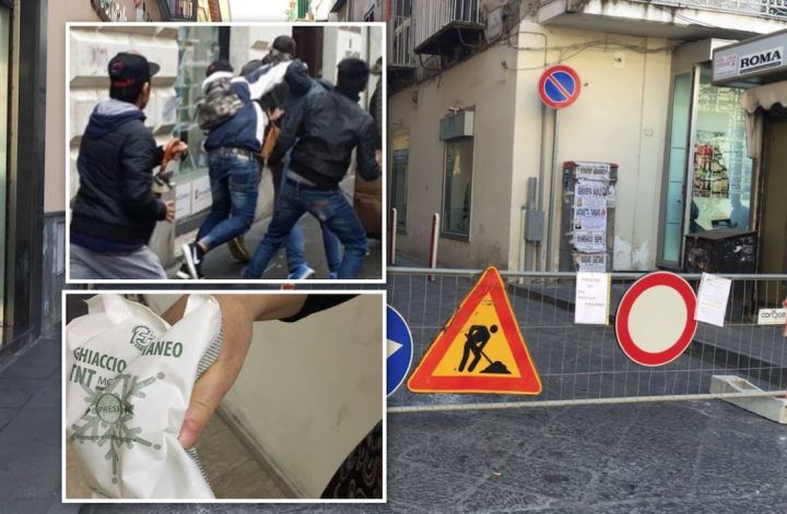 Follia a Giugliano, rissa al Corso Campano tra operai e residenti. Ferita consigliera comunale