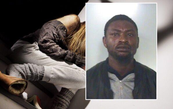 La minaccia con una forbice e la violenta, arrestato nigeriano nel Casertano