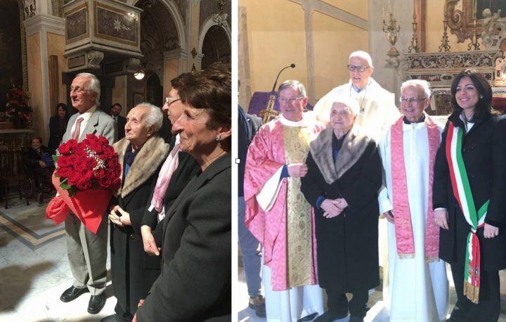 Giugliano e Villaricca in festa per Santina: compie 100 anni