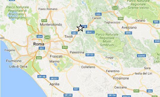 INGV/ Terremoto oggi a Roma, scossa di magnitudo 2.3