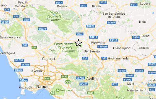 Piccola scossa di terremoto (1.4°) alle 4,49 avvertita nella zona di Elva