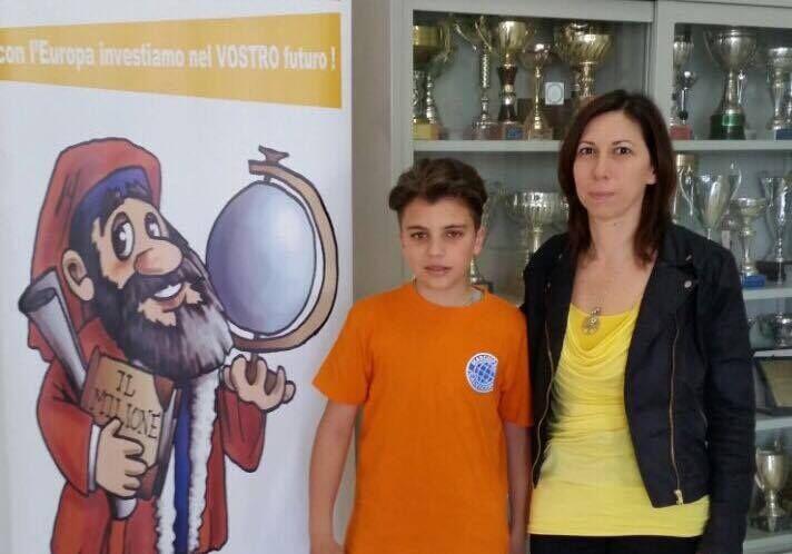 """Calvizzano, bambino della """"Marco Polo"""" in finale ai giochi matematici della Bocconi"""""""