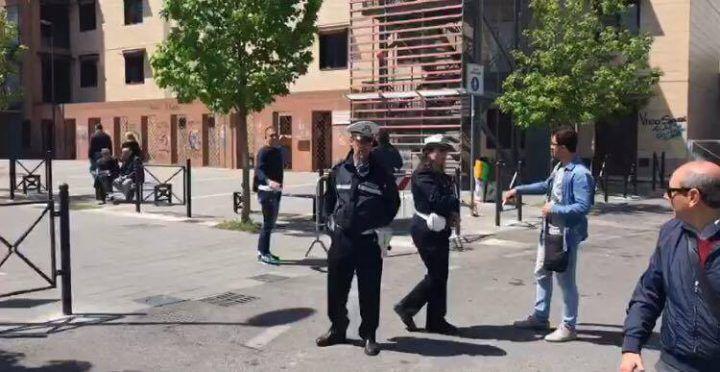 Marano, controlli e vigili in via Nuvoletta dopo il caos parcheggiatori abusivi