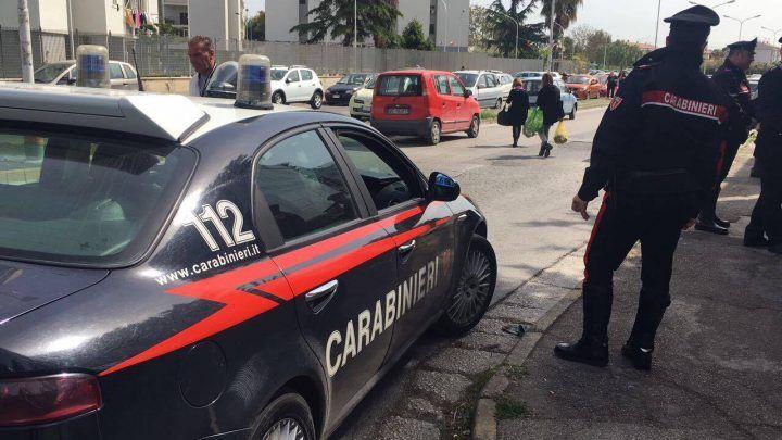 Giugliano, carabinieri a Casacelle. Ancora controlli contro i parcheggiatori abusivi