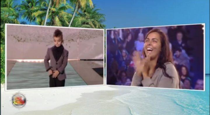 Nancy Coppola eliminata dall'Isola dei Famosi: si commuove rivedendo il figlio