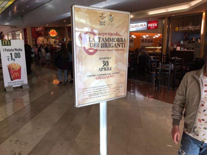 Domenica all'Auchan di GIugliano si rivive la tradizione dei Briganti