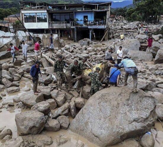 Tragedia in Colombia a causa delle piogge: 200 morti