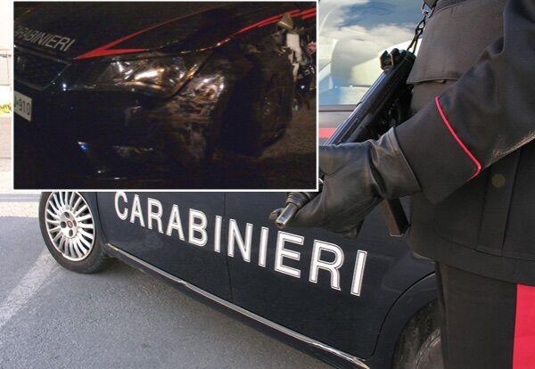 Maddaloni, non si fermano all'alt e speronano auto dei carabinieri: arrestati i fratelli Zampella