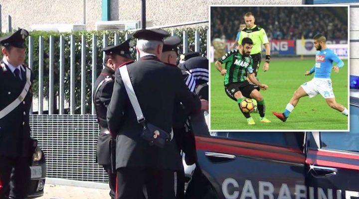 Torre del Greco, evade dagli arresti per guardare la partita del Napoli
