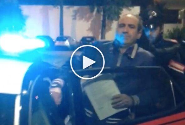 Lusciano, arrestato boss del clan dei Casalesi. Foto e video