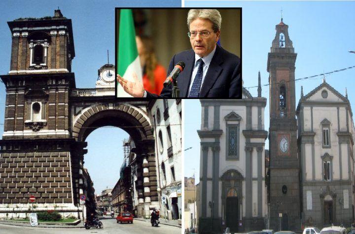 Clamoroso, nasce la provincia di Giugliano-Aversa. Svolta storica di Gentiloni