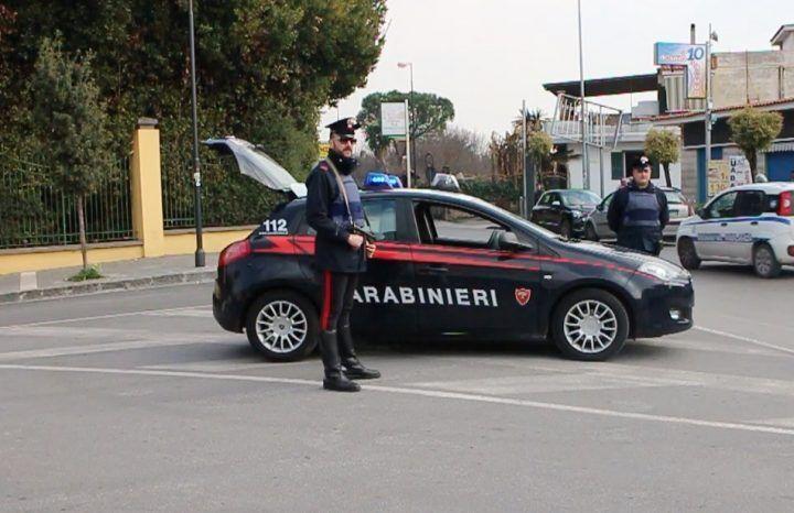 Sant'Antimo e Giugliano blindate dai carabinieri, 1 arresto e 7 denunce
