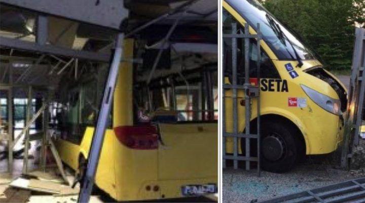Carpi, due bus si schiantano contro un scuola. Studenti sotto choc