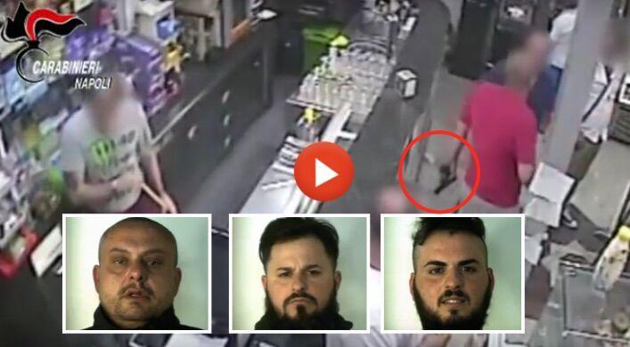 Napoli, agguato d'onore sventato: tre persone arrestate