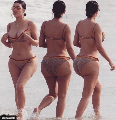 kim kardashian cellulite