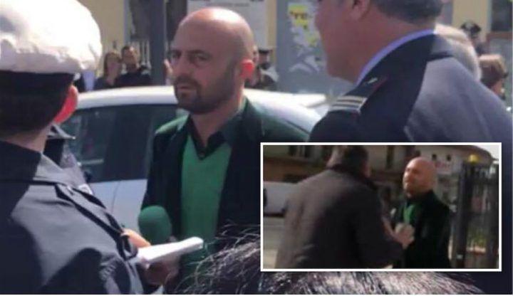 Marano, Luca Abete inseguito da un parcheggiatore abusivo. Arrivano i Carabinieri