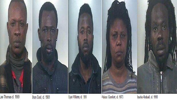 Mafia Africana, 6 arresti per prostituzione e spaccio