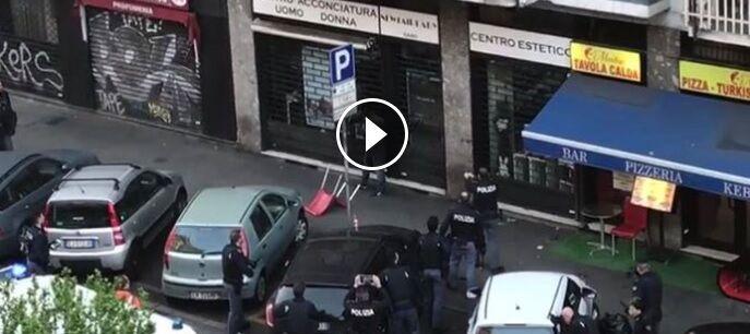 Milano, sparatoria in viale Monza: immigrato colpito alle gambe. VIDEO