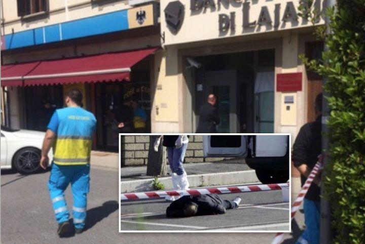 Pisa, rapinatore napoletano si sente male durante colpo in banca e muore