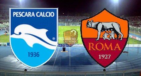 Dove vedere Pescara – Roma in streaming gratis live e in diretta tv