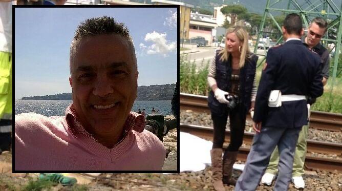 Casoria, tragedia sui binari. Muore Ciro Fusco travolto dal treno
