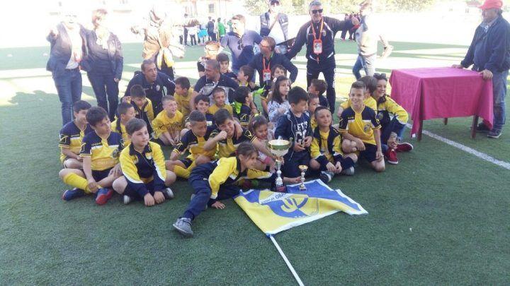 La Junior Giugliano trionfa al torneo di Agnone