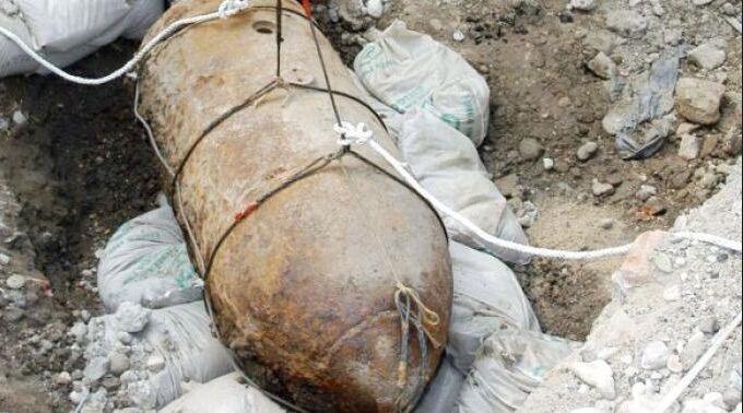 Acerra, ritrovata bomba della seconda guerra mondiale nei pressi dell'Ipercoop
