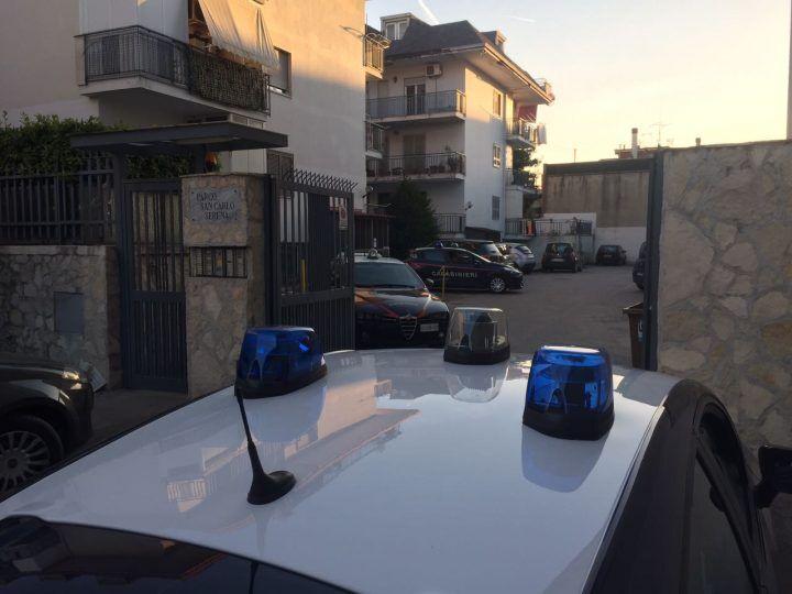 Giugliano, blitz dei Carabinieri in via San Vito