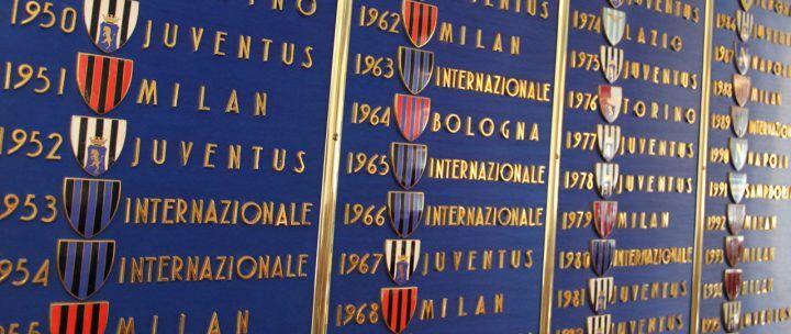 La Juventus ha vinto lo scudetto: albo d'oro della serie A. La classifica