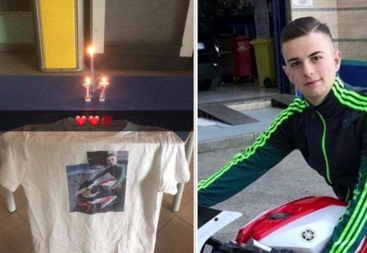 Giugliano, memorial per Alessio Granata: ieri avrebbe compiuto 17 anni