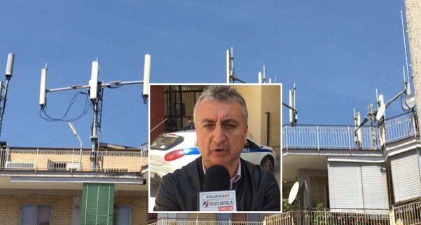 Nuova antenna a Qualiano, allarme tra i residenti. Scattano i controlli