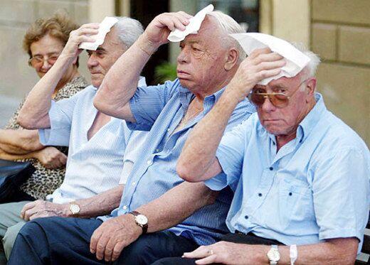 Anziani soli durante l'estate, sono in aumento