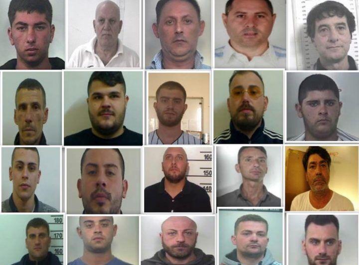 Camorra:32 arresti tra Casertano e Lazio