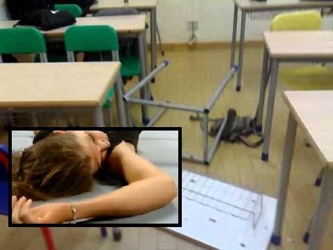 Vallo della Lucania, le lanciano contro un banco per gioco: 13enne all'ospedale