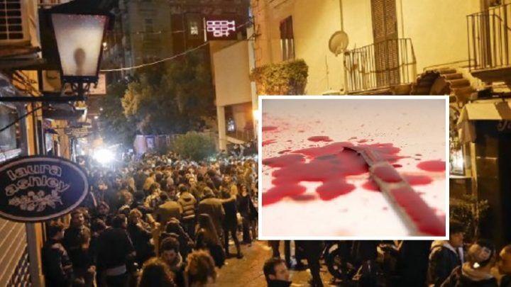 Rissa ai baretti di Chiaia, volano sgabelli e spuntano coltelli: 3 feriti ed 1 arresto