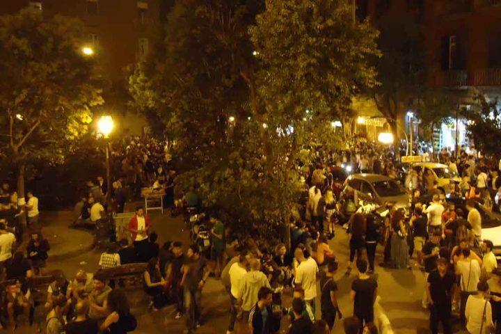 Napoli, spaccio di droga in piazza Bellini: arrestati tre extracomunitari