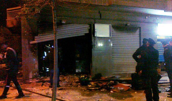 Sant'Antimo, esplode bomba nella notte. Danneggiata macelleria