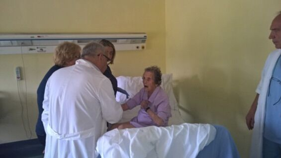Boscotrecase, operata al femore a 104 anni: subito a casa