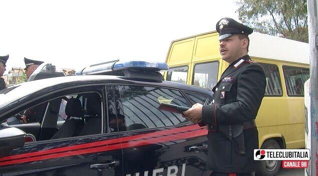 Giugliano, scuolabus: i carabinieri sequestrano 40 veicoli