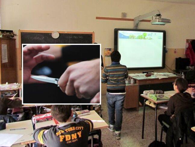 Lite in aula tra 14enni finisce a coltellate: ferito un ragazzo