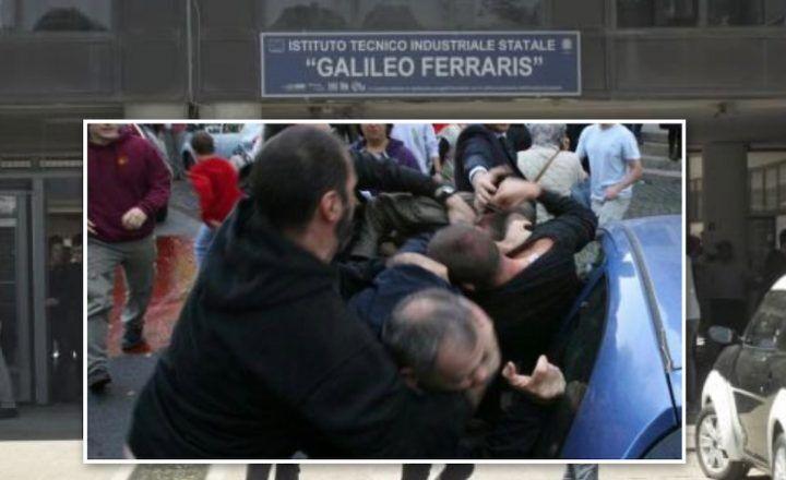 Follia a Scampia, uomini armati seminano il panico all'ITIS Ferraris. Studenti bloccati