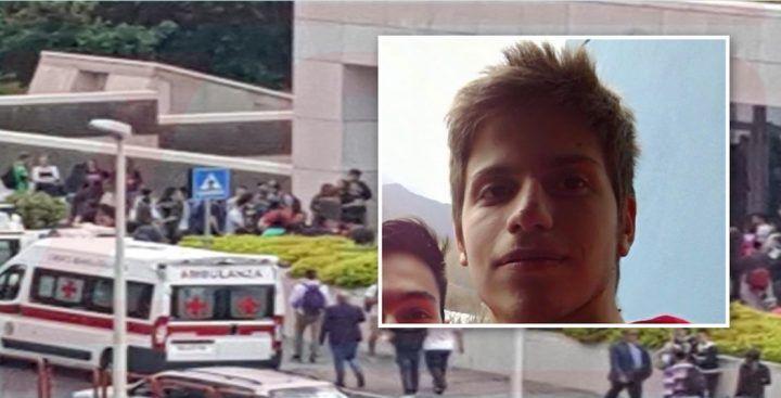 Salerno, choc all'Università: studente si suicida lanciandosi dal terzo piano
