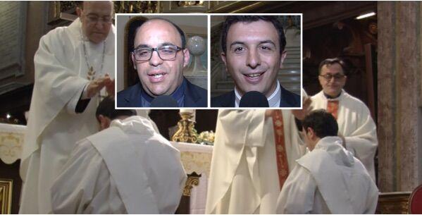Giugliano, ordinazione per due nuovi sacerdoti