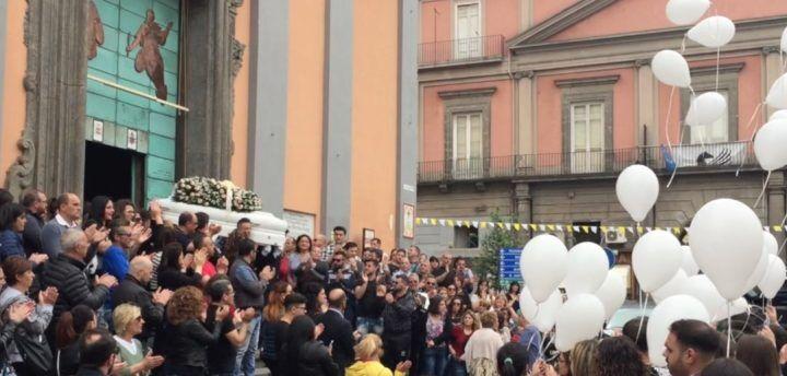 Giusy Seguino, a Giugliano i funerali della 28enne