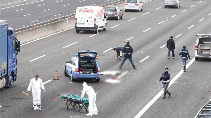 Incidente mortale sull'A1, chiusura in direzione Napoli