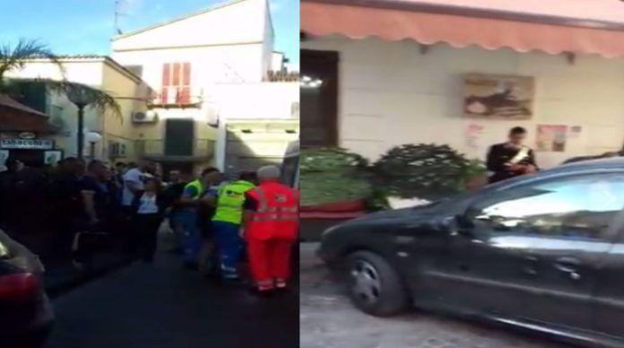 Parete, tragedia sfiorata: auto impazzita piomba su un bar. Ferita una donna