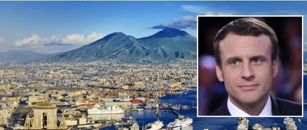 """Per Macron """"Napoli è la città più bella del mondo"""". Da Magistris: """"Lo aspettiamo"""""""